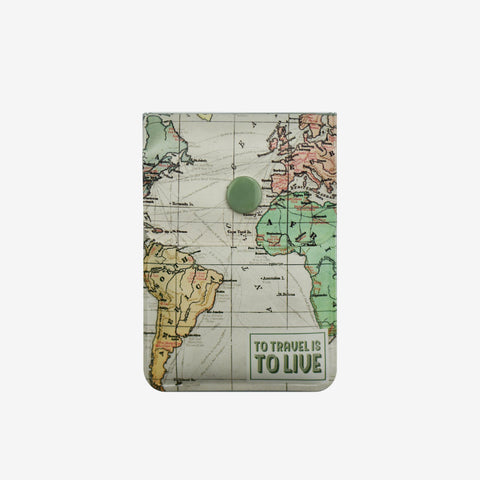 Time to Travel map for your pocket ashtray