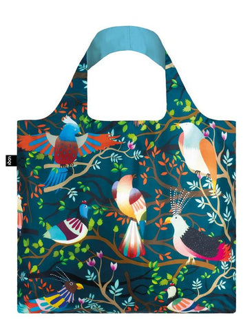 Colourful Birds Themed Fashion Tote Bag