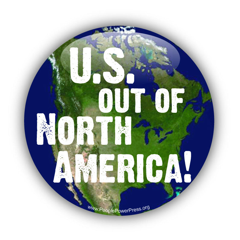 US Out Of North America - First Nation Solidarity