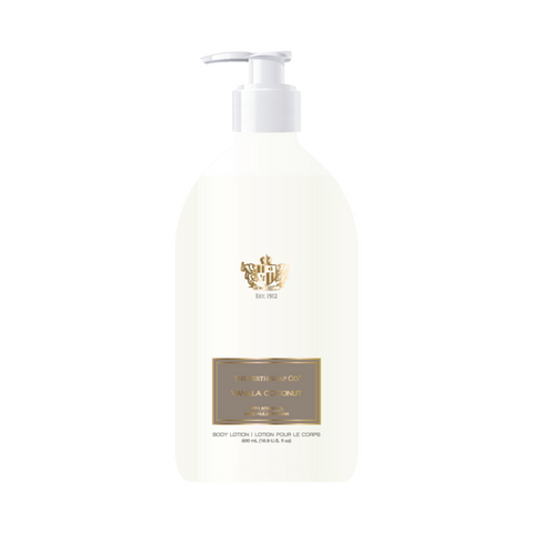 Perth Soap Co. Vanilla Coconut Body Lotion, Luxurious and Gentle with Argan Oil