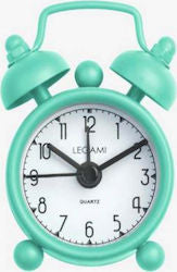 Bold Bright Green Vintage Memories Mini Alarm Clock