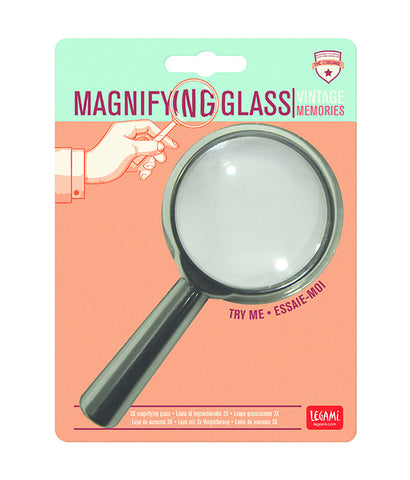 Vintage Memories 3X Magnifying Glass