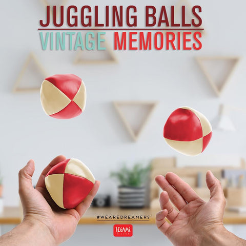 Learn how to Juggle with Vintage Memories Juggling Balls