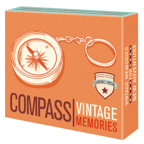 Vintage Memories Compass with Keyring