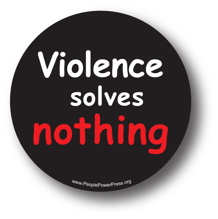 Violence Solves Nothing Anti-Bullying Design