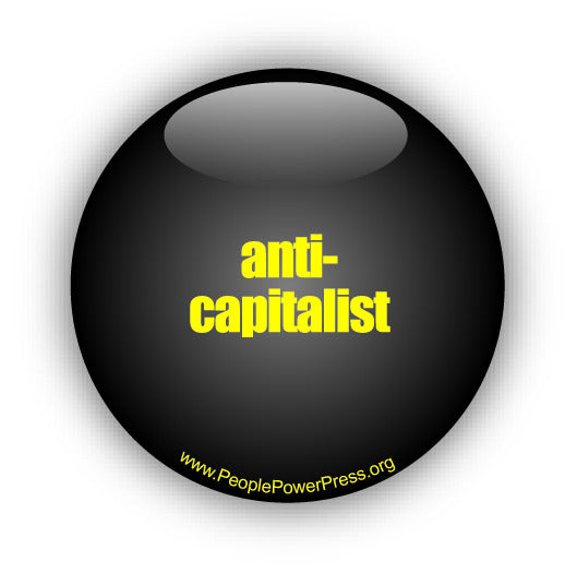anti-capitalist button