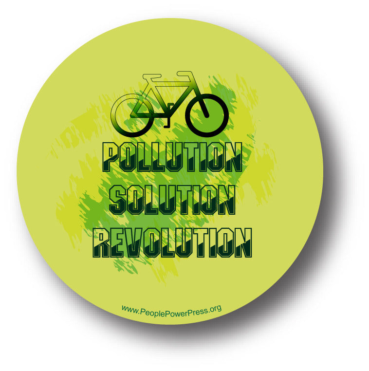 Bicycles - Pollution Solution Revolution