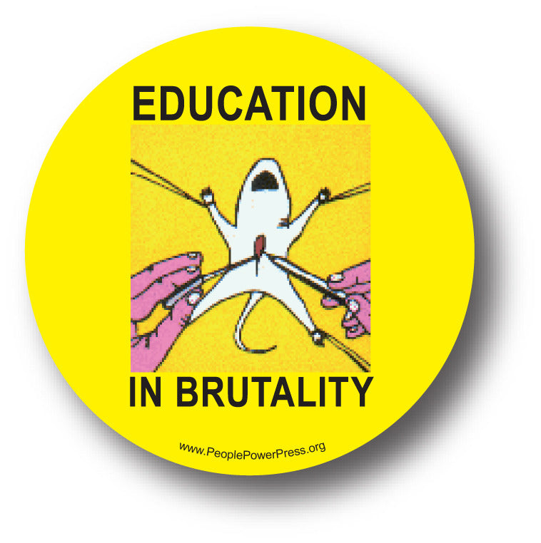 Education In Brutality Button