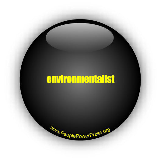 Environmentalist, environmental button design