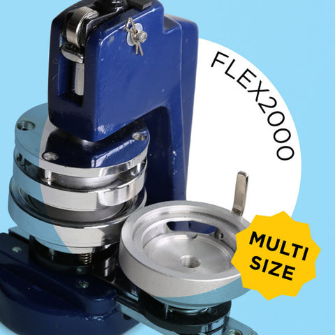 FLEX2000 Multi-Size Button Maker & Start Up Kits
