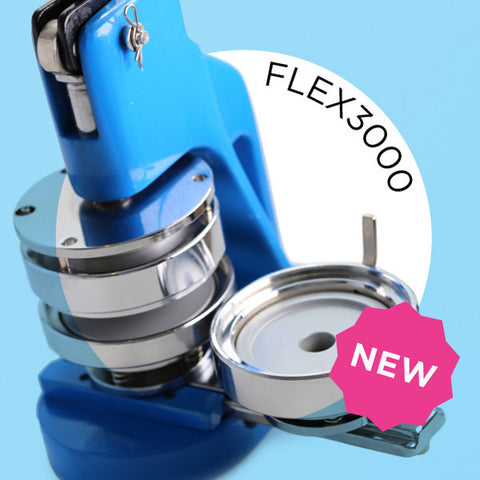 flex3000 3 inch hobby button maker