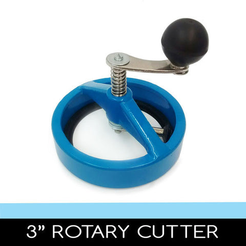 3 inch round rotary circle cutter