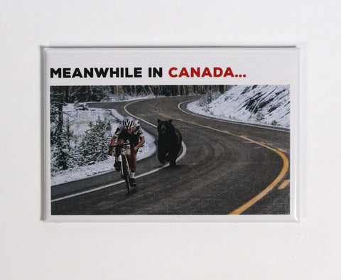 canadian stereotype fridge magnet