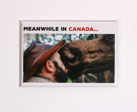 Meanwhile in Canada - Fridge Magnets