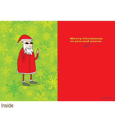 Greeting Cards - Clayboys - Funny Christmas Cards