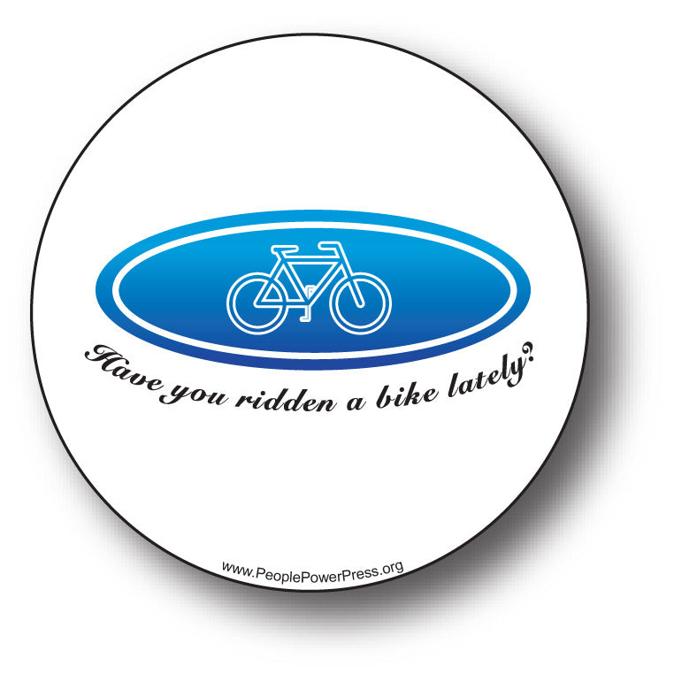 Bicycles - Have You Ridden A Bike Lately?