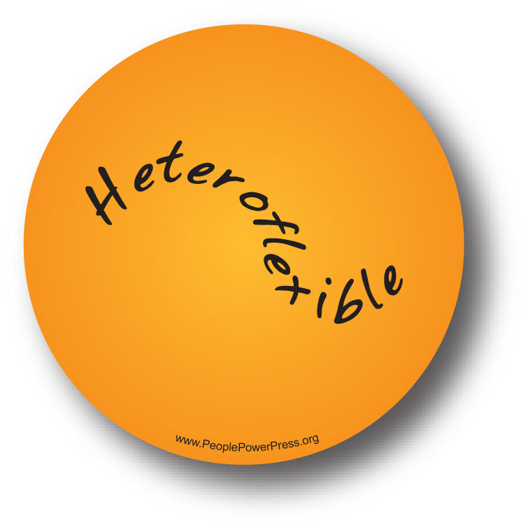 Heteroflexible - Queer Button