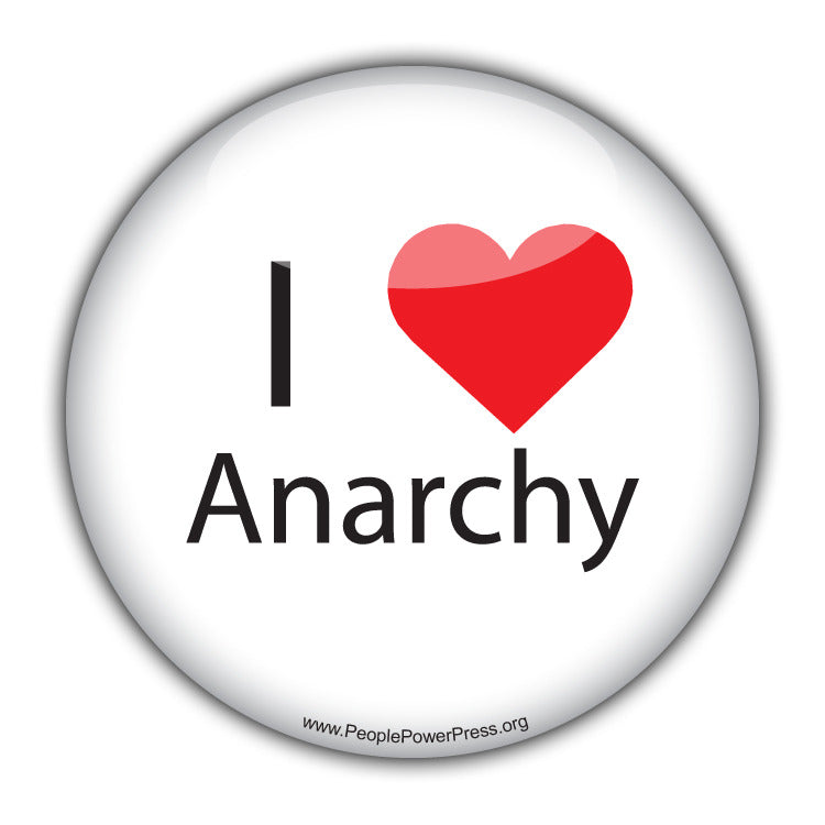 I Heart Anarchy - Alternative Thinking Button