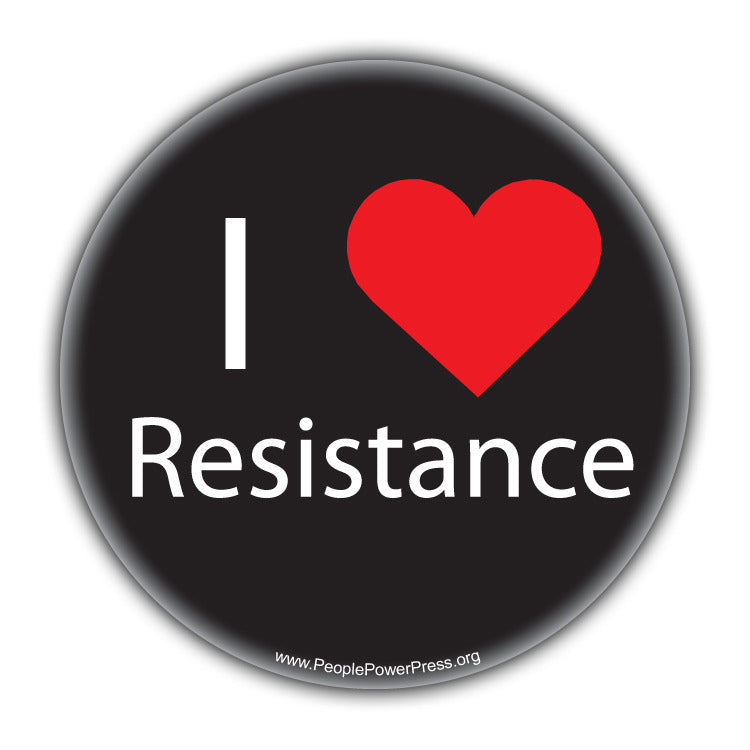 I Heart Resistance - Alternative Thinking Button