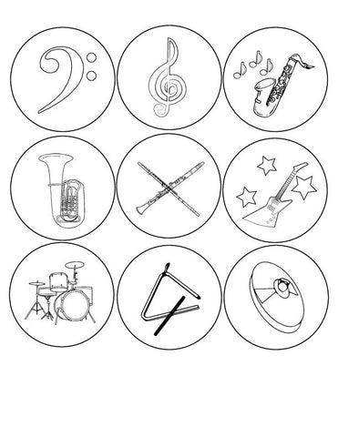 Kids button designs for colouring