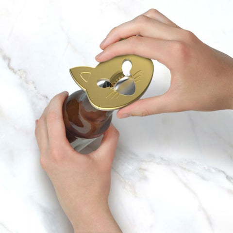 cat bottle opener