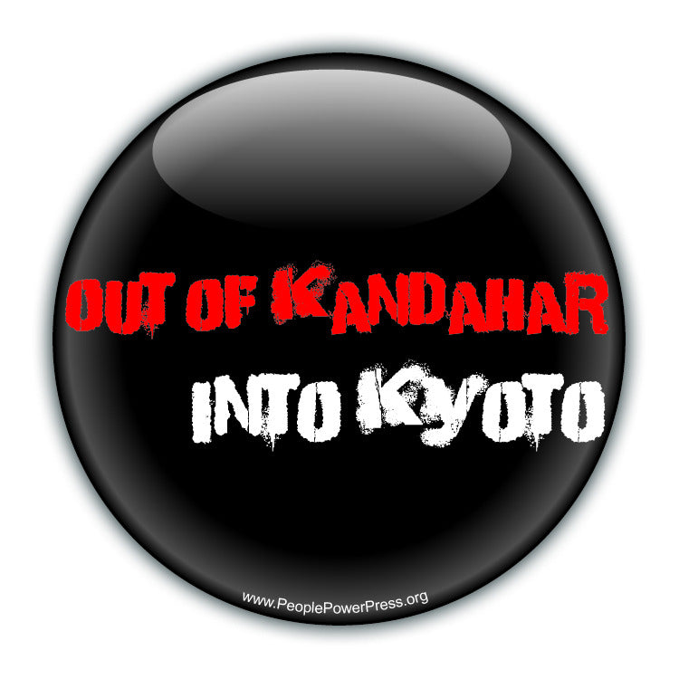 Out Of Kandahar, Into Kyoto - Environmental Button