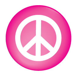 Peace buttons for schools