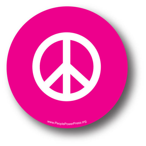 Peace Pin - Sixties Pin Design