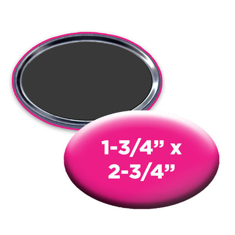 custom oval magnets