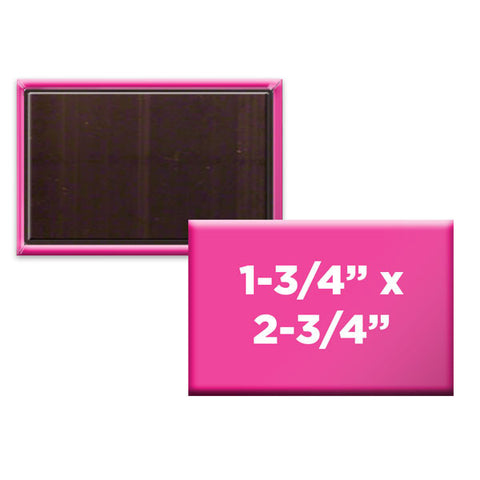 "Custom Rectangle 1-3/4"" x 2-3/4"" Magnets"