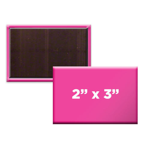 "Custom Rectangle 2"" x 3"" Magnets"