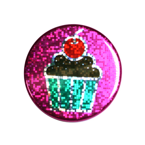 holographic cupcake