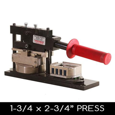 "Special** Deal: 1-3/4"" x 2-3/4"" Rectangular Button Maker Kit SALE on Tecre!"