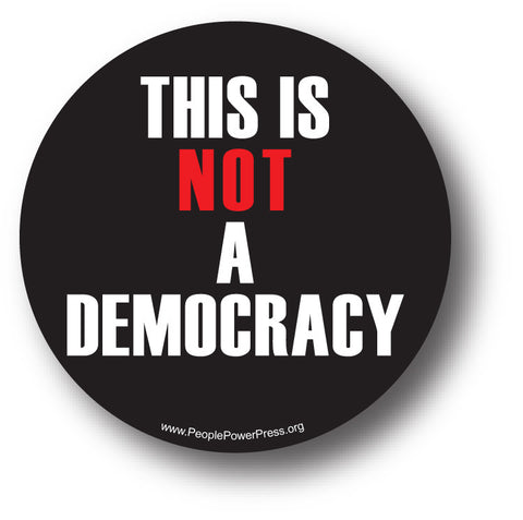 This is NOT a Democracy - Black