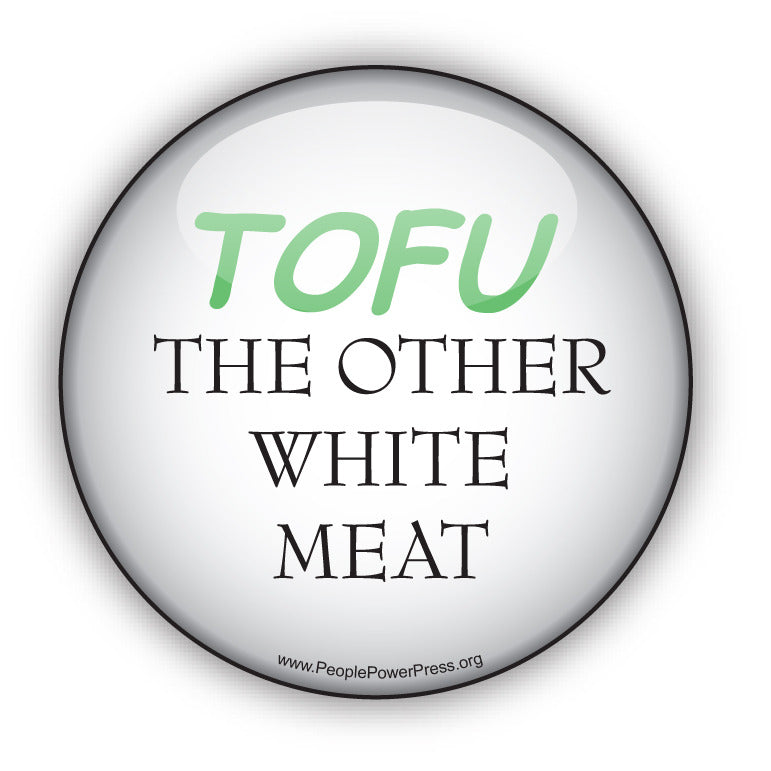 TOFU - The Other White Meat - Vegetarian Button