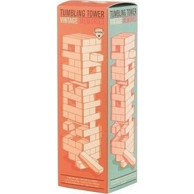 Family-Fun Tumbling Tower Game