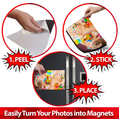 Turn Photos into magnets
