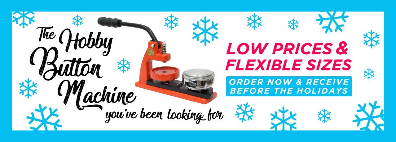 Flex Hobby Button Making Machines Different Sizes Holiday Specials