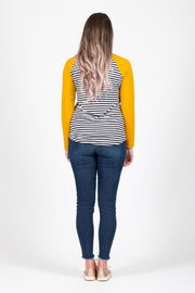 Long Sleeve Top - Mustard