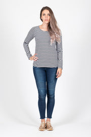 Long Sleeve Top - Stripe