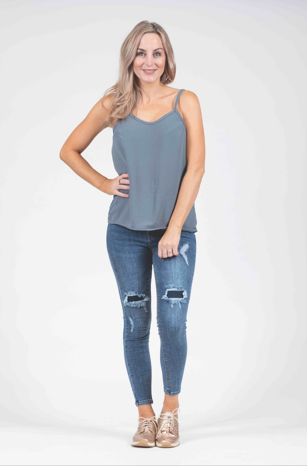 Cami - Smokey Blue