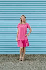 Breast Cancer Matai Dress - Pink
