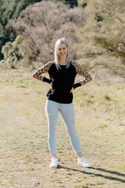 Audrey Jumper - Black / Animal