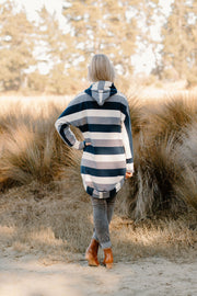 Homestead Jacket - Navy Stripe