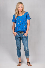 Blue Bird Vienna Top from White Chalk Ltd