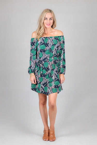Tropical Hayley Dress from White Chalk Ltd