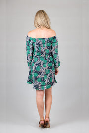 Hayley Dress - Tropical