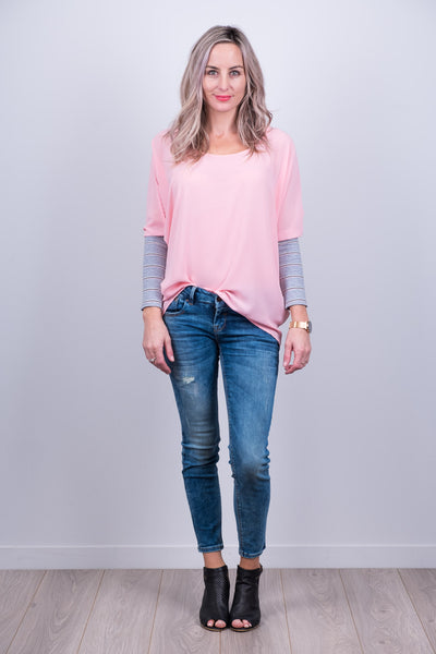 Kiera Top - Soft Pink