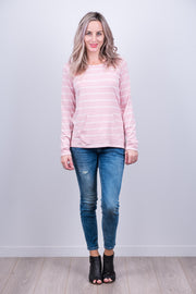 Louie Top - Blush Stripe