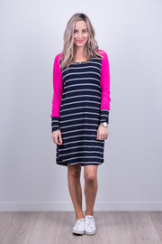 Holster Dress - Pink Sleeve